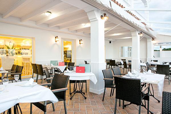 Terraza restaurante El Alférez