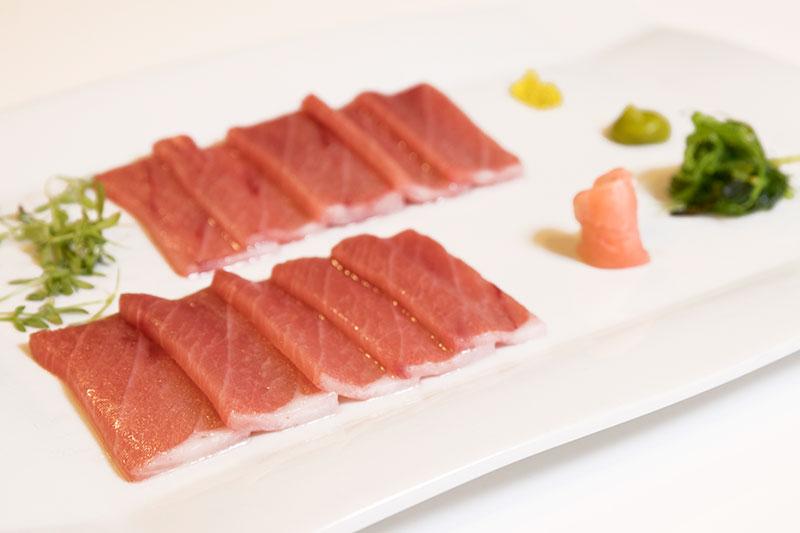 sashimi de atun